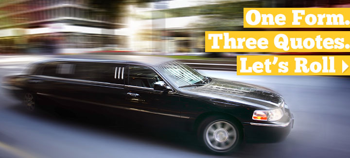 3 Limousine Insurance Agents Compete