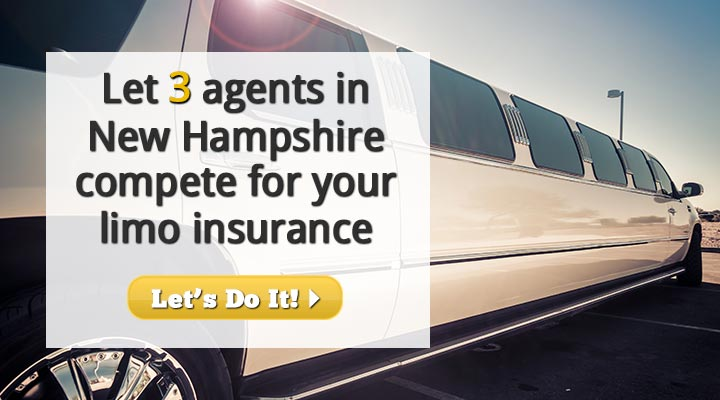 New Hampshire Limousine Insurance Quotes